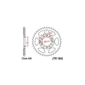 Zębatka napędowa JT tył JTR1842.54