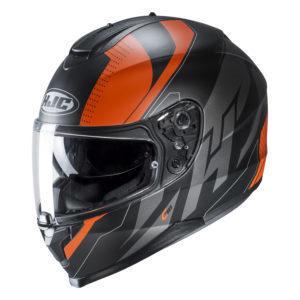 Kask HJC C70 Boltas black/orange