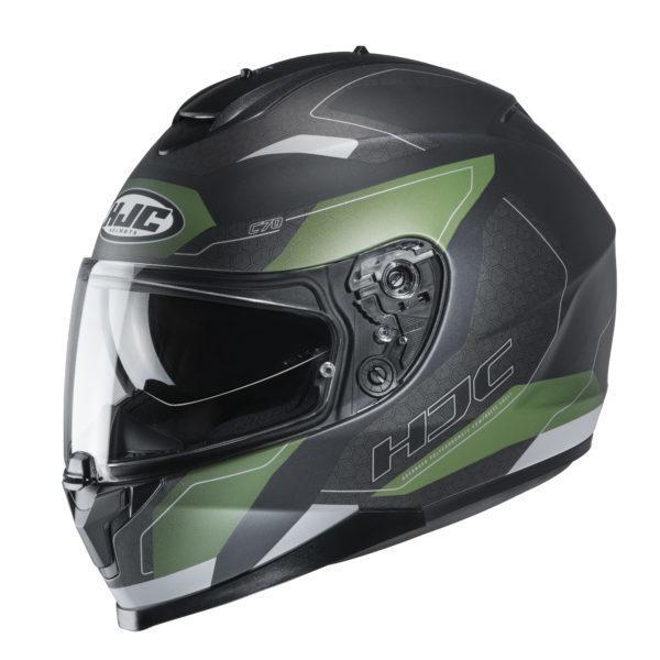 Kask HJC C70 Canex black/green