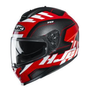 Kask HJC C70 Koro black/red/white