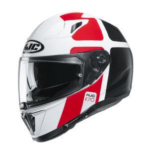 Kask HJC I70 Prika white/black/red