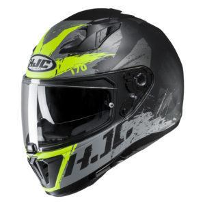 Kask HJC I70 Rias black/flo green