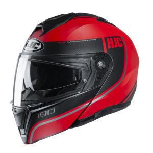 Kask HJC I90 Davan black/red