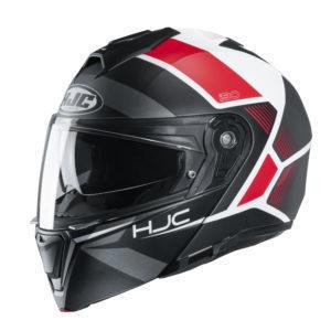Kask HJC I90 Hollen black/white/red
