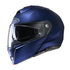 Kask HJC I90 Semi flat mettalic blue