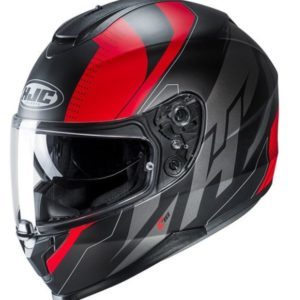 Kask HJC C70 Boltas black/red