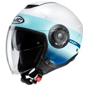 Kask HJC I40 Unova white/blue