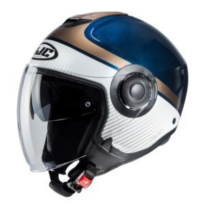 Kask HJC I40 Wirox white/blue