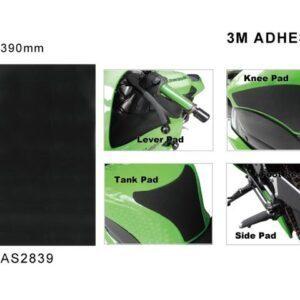 zastosowania pianki antypoślizgowej na zbiornik Keiti czarna 28cm x 39cm